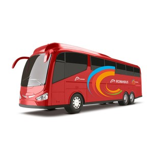 Ônibus Roma Bus Executive Red - Roma Jensen - 7202