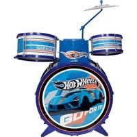 Bateria Infantil - Hot Wheels - Barão Toys - 1078