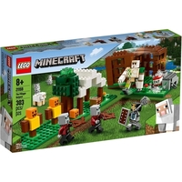 Lego Minecraft Playset The Pillager Outpost 13215